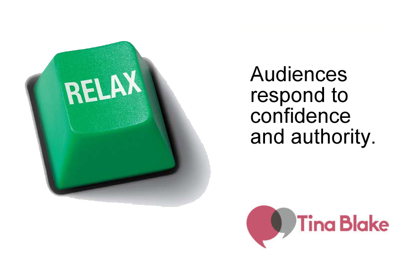 Enjoy Yourself: Relaxing to Relax the Audience