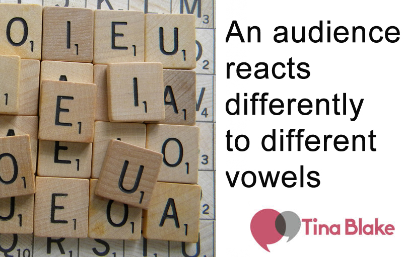 Successful Speakers Use Their Vowels