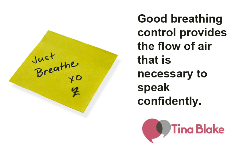 Worried About Speaking? Just Breathe.