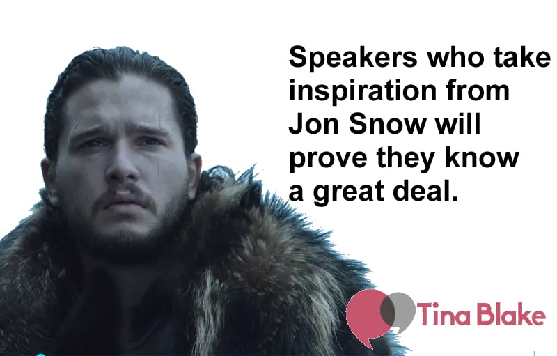 Speak Like Jon Snow: Authenticity and Inspiration