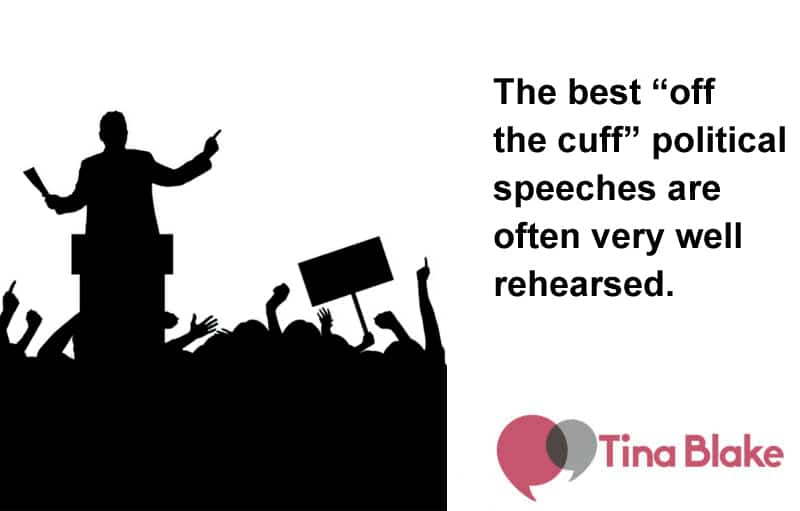 How To Persuade An Audience, Politically Speaking