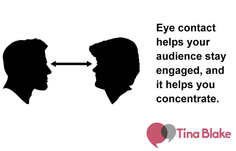 Scanning The Room: Why Eye Contact Matters