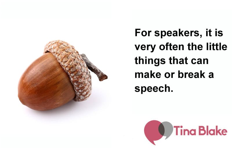 Why the Little Things Make a Big Difference for Public Speakers